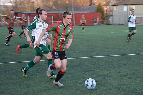 SCORET: Andreas Rørvik scoret for Ørje og bidro til seier 2-1 over HSV II.