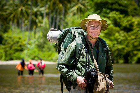 Gunnar Hasle er ekspert på reisemedisin. Født i Askim men flyttet til storbyen etter videregående skole.