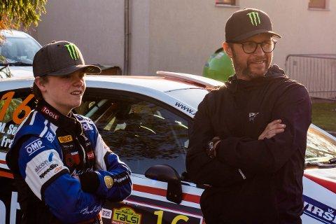 SKAL MÅLE KREFTER: Oliver og Petter Solberg gjør henholdsvis sin VM-entré, og takker av etter 21 år i Rally-sirkuset.