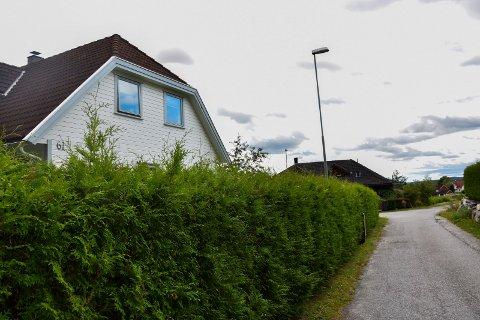 Nye naboer: Beboerne i det lille villaområdet i Kykkelsrud kan få nye naboer i åsen bak seg.