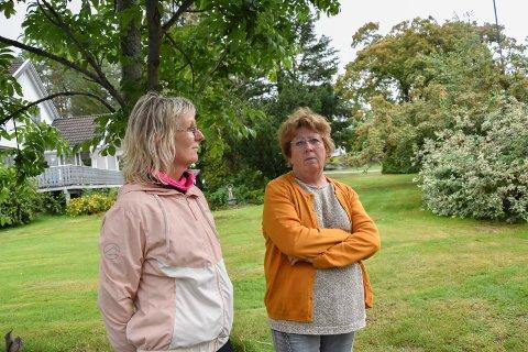 Først på stedet: Therese Karlsen (t.v) og Anita Zezanski var en av de første på ulykkesstedet: – Det er godt å kunne hjelpe til når vi må, sier damene.