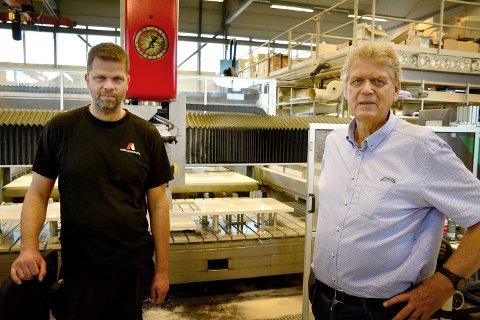 Andre Kjeserud og Ragnar Kjeserud mener Fylkesmannen ikke skjønner seg på hvordan industri bygges.