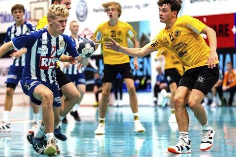 Flere kommuner: Henrik Langstøyl fra Spydeberg er en av mange HK Eidsberg-spillere fra andre kommuner.
