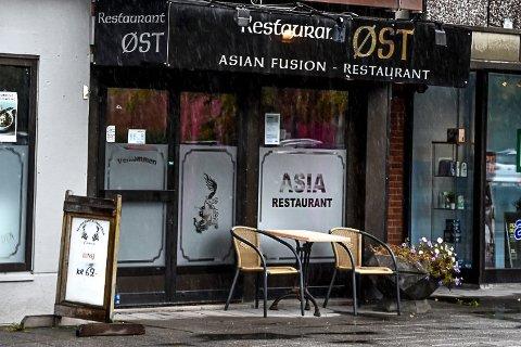 Restaurant Øst fikk strekmunn av Mattilsynet etter deres tilsyn 24. september.