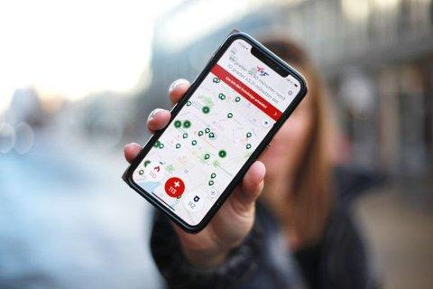 113-appen kan redde 20 liv hvert år, tror Helsedirektoratet.