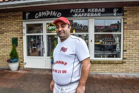 Farhan Bahli tok tak med en gang etter Mattilsynet hadde vært på besøk. Han sier at alt er som det skal hos Campino Mysen.