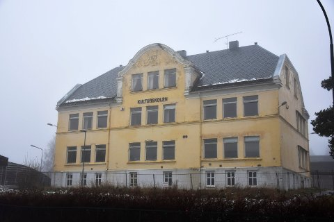 Leiligheter i sentrum: 1919-bygget eller gamle Askimbyen skole, skal nå omgøres til moderne leiligheter.