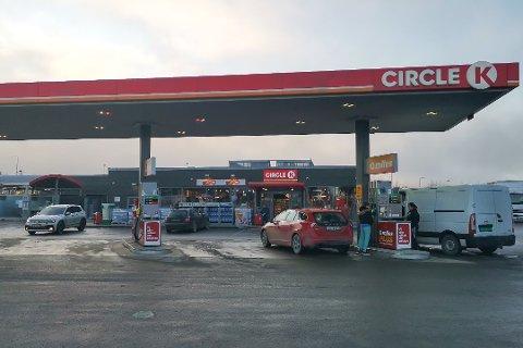 REKORDDYRT: Den spente situasjonen i Midtøsten gir rekordhøye diesel- og bensinpriser.