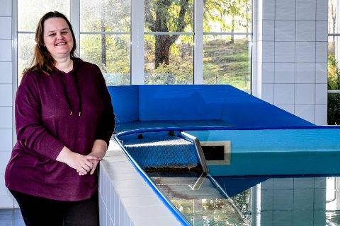 HUNDESVØMMING: Ann Kristin Thoresen bestemte seg for å starte for seg selv som 47-åring.