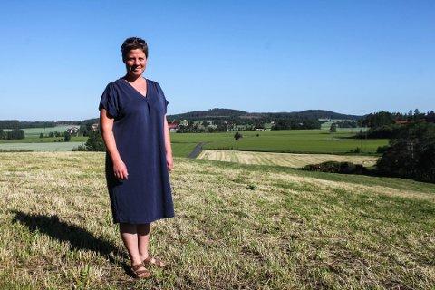 Maren Hersleth Holsen (44) håper på en plass på Stortinget etter valget om et snaut år.