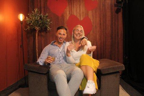 FANT TONEN: Ådne var på date med svenske Alexandra. De fant fort tonen under programmet.