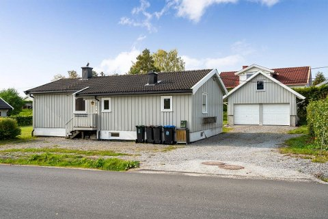 Flere ville ha boligen i Arnoldts vei i Spydeberg. Etter en heftig budrunde ble den solgt til langt over prisantydning.
