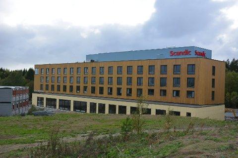 Bar på toppen: Hotellet på Brennemoen  kan gjøre Mysen-området mer attraktivt med en skybar.