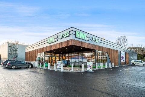 Aksjene i Vinger Askim AS er lagt ut for salg. Selskapets eneste formål er å eie de nye Kiwi-lokalene i Hurrahølet.