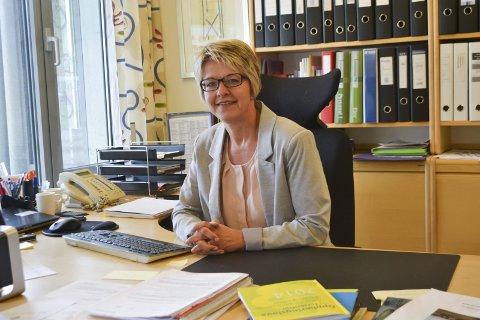 REKTOR: Vigdis Gjerberg mener skolen har jobbet målrettet i en lengre tid og det har gitt resultater.