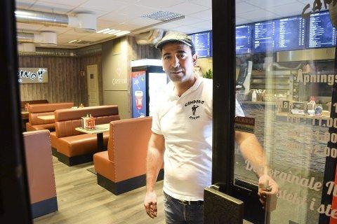 Fouad Badreddin Albakr på Campino Askim har nå fått tilbake smilefjeset sitt.