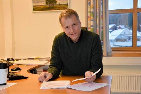 Skaffer seg jobber: Ordfører Saxe Frøshaug (Sp) håper de ansattes kompetanse fører til at de lett får seg ny jobb.