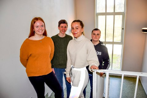 – Denne turen kommer vi til å huske lenge, sier 16-åringene Hanne Thingelstad og Edith Lundeby i 10A, og Ludvik Jensen og Sebastian Hovland i 10B.