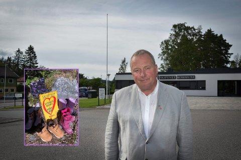 PÅ KOLLISJONSKURS: Erik Thorstein Næss i Skiptvet Ap.