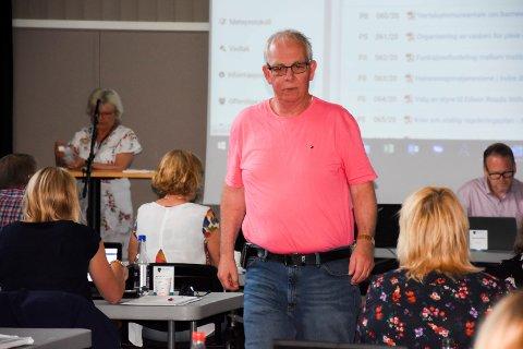 Partiløs: Neste gang Frank Finstad stiller i kommunestyret er det ikke sikkert han er Høyre-politiker.