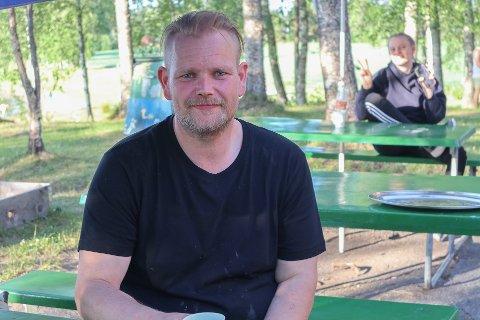 Ronny Hansen er oppgitt over at noen har stjålet den gamle hengeren hans.