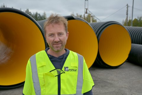 Thomas Tørnby er prosjektleder for Bergquist Maskin og Transport as.