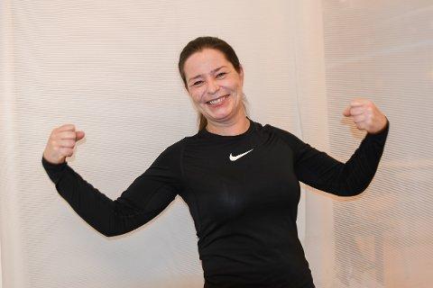 BRENNER FOR IDRETTEN: Kari Botten Paulshus gleder seg til å ta fatt på jobben som daglig leder for Indre Østfold Idrettsråd. Jobben starter hun i en gang i midten av februar.