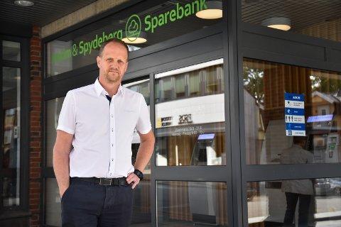 ANBEFALER YRKET: Espen Halvorsen trives i Askim & Spydeberg sparebank. Foto: Arkivfoto