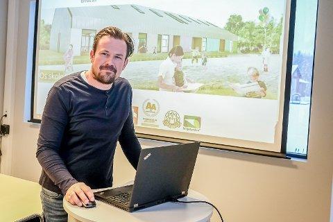 Arkivfoto av daglig leder for Rakkestad-bedriften Boger Bygg, Erik Boger. Bedriften hans krever nå 87.000 kroner av Skiptvet kommune for en saksbehandlingsfeil.