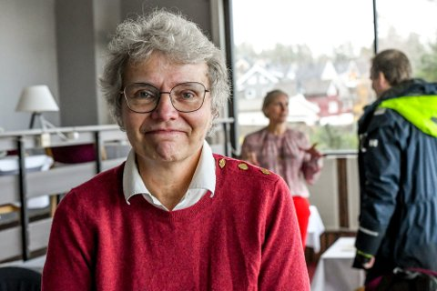 Kommuneoverlege: Barbro Kvaal orienterer om vaksinesituasjonen.