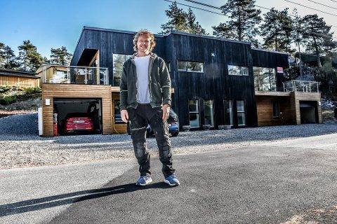 Byggmester Bjørn Andre Tveter (46) fra Trøgstad er på kjøp'ern.