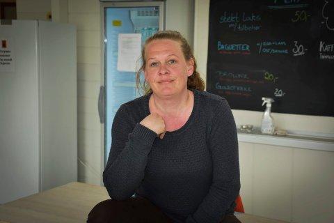 Søkte om penger: Cathrine Myhre daglig leder Kirkens Bymisjon på Mysen søkte om penger til et nytt fryserom. Hun  fikk et enstemmig ja fra politikerne.