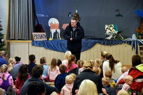 BARNEHAGEEIER: Jørn-Thomas Gaaseby driver Knoll og tott barnehage på Tomter.