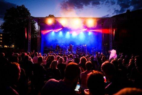 Sist gang byfesten ble arrangert sto bandet Oslo Ess på scenen.