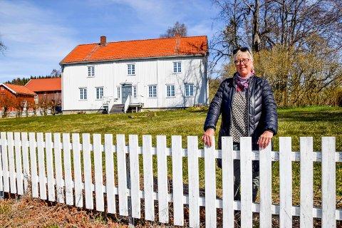Rødenes prestegård betyr noe spesielt for Turid Bøe Larsen.