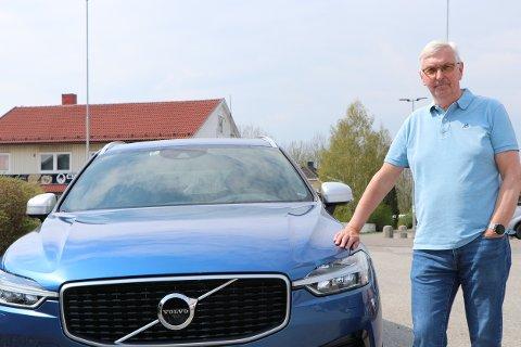 Volvoentusiast: For Erik Syversen (64) er det kun Volvo som gjelder.