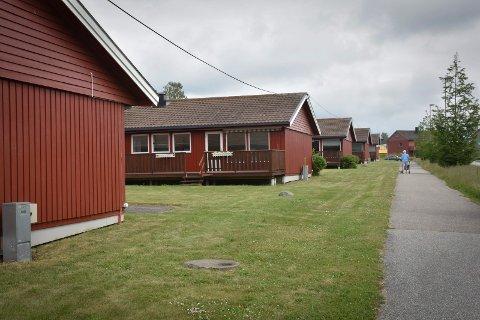 Løken borettslag: Her eier kommunen 10 av 14 enheter.