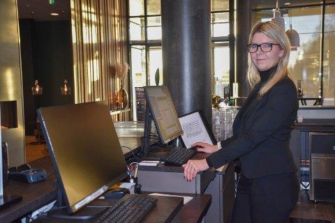 Hotelldirektør ved Scandic Brennemoen, Mette Ekelund.