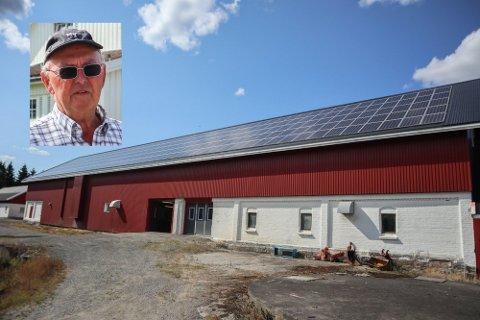 Edvard Moen mener solceller er framtiden.