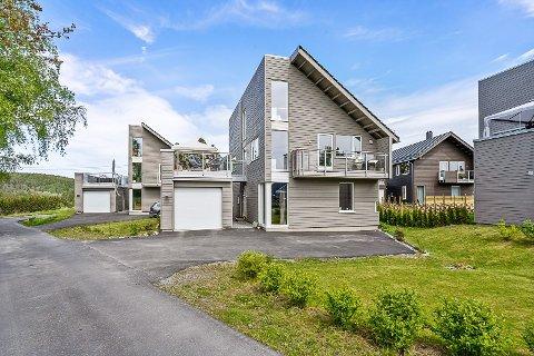 SOLGT: Huset var nytt i 2016. Fem år senere har prisstigningen vært formidabel.
