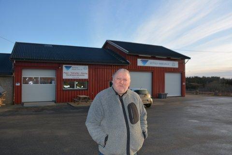 Tommy Leret får drive sitt ventilasjonsselskap videre i lokalene på Sulerud.