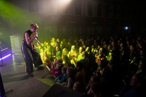 Foto fra konserten med ISAK under den sørsamiske høstfestivalen på Snåsa i fjor. Foto: Aina Bye