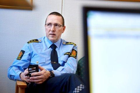 ØNSKER TIPS: Miljøkoordinator Stein Erik Granli i Trøndelag politidistrikt.