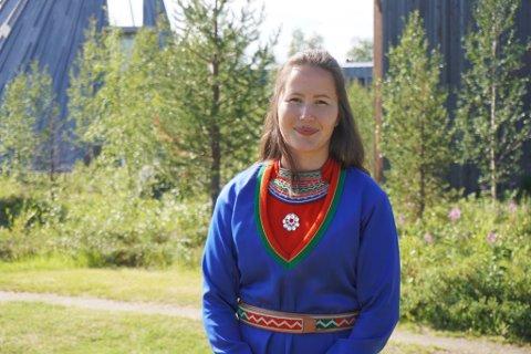 1. plass: Maja Kristine Jåma ble torsdag kveld valgt som førstekandidat i Norske Samers Riksforbund foran Sametingsvalget.