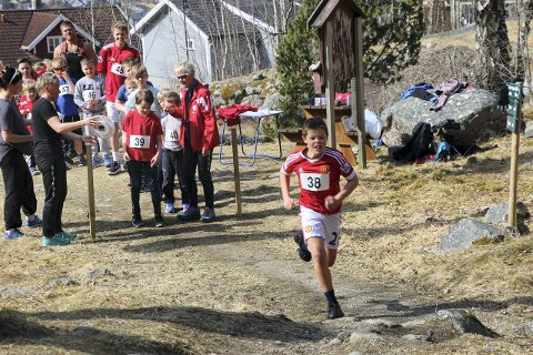 Edvard Olsen Tjønn hadde beste tiden på 5.46. (Foto: Jan Christian Jerving)