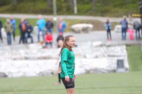 Ingrid Lovise Jåstad: Ho er teken ut på det norske J19-landslaget til ei turnering i Lakewood i Florida i slutten av januar.