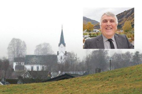 OPNAR SNART: Prost Geir Paulsen er  gild over at kyrkja snart kan opna att, men trur ikkje det vil skje i Sogn i løpet av den kommande veka. (Arkivfoto)