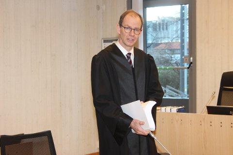 BØR AVVISAST: - Saka bør avvisast blant anna på grunn av omgåing av avtalar og reglar om forkjøpsrett, sa Filip Truyen, BKK sin advokat i lagmannsretten.