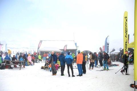UTSELD: Det var om kring 1400 som deltok på festivalen.