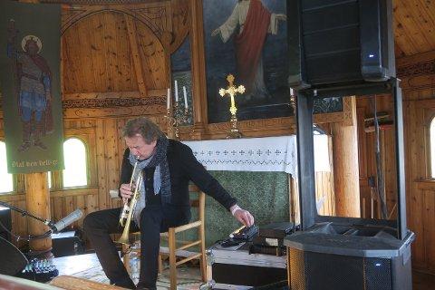 Nils Petter Molvær i Den engelske kyrkja